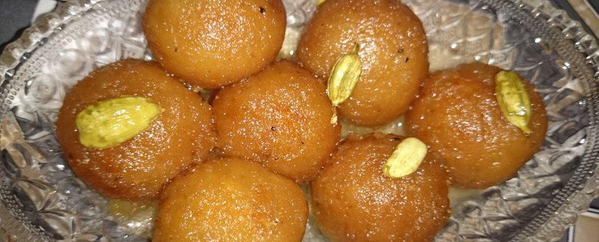 Bread Gulab Jamun without Milk Powder