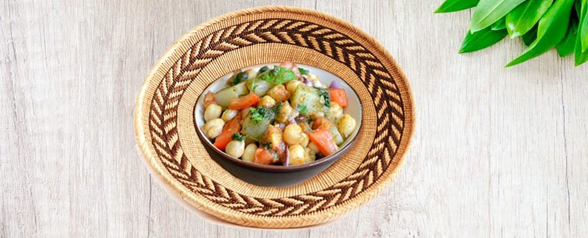How to quickly make Lahori Chana Chaat