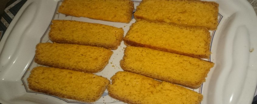 How To Make Crispy Cake Rusk At Home