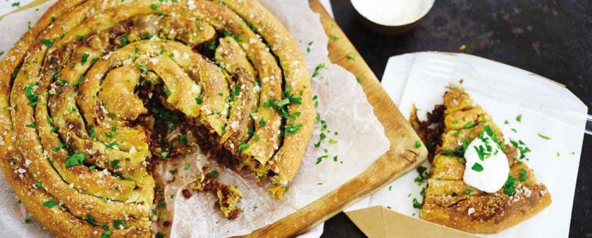 BUREK ( Turkish Beff Filling Stuffed Pastries)