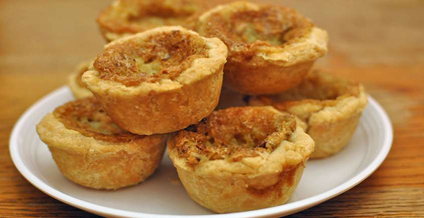 BUTTER TARTS ( Made with Cory Syrup)