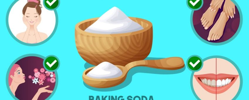 Hygiene and beauty uses for baking soda