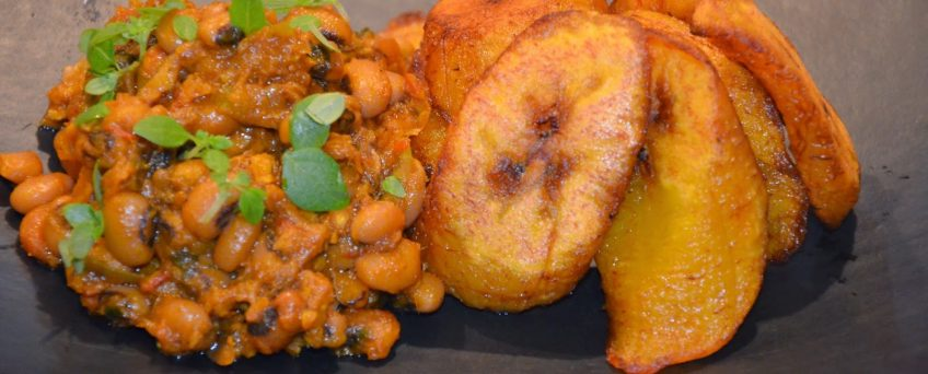 RED RED WITH FRIED PLANTAIN