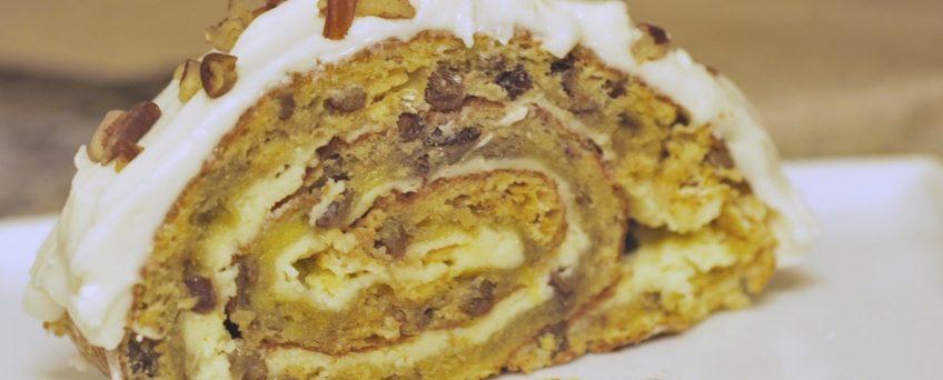 Almond Sponge Roll Recipe