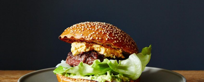 Bacon-Stuffed Burgers