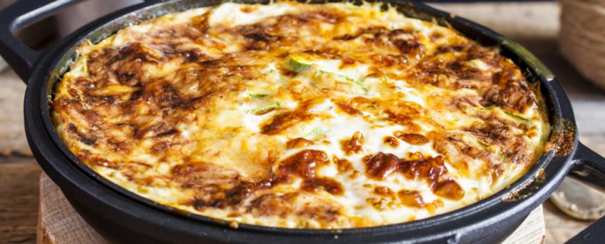 Baked Zucchini Cheddar Casserole