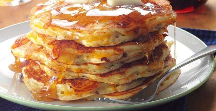 How to Make Pancakes with Cheddar Cheese