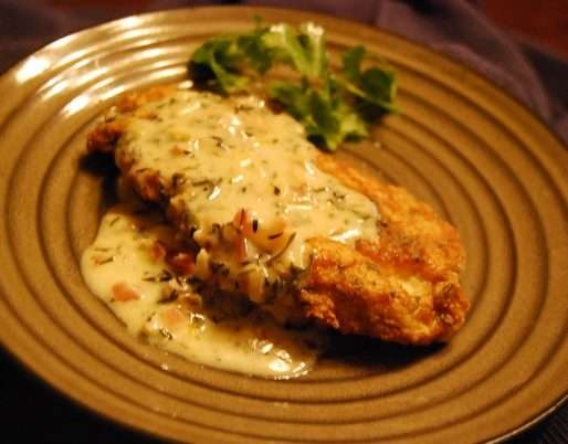 Easy to Make Cheese-Crusted Chicken with Cream