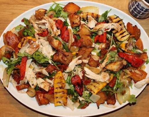 Chicken Salad Bake