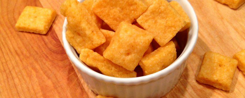 Easy Homemade Cheese Crackers not Ritz