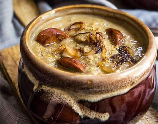 French Onion Mushroom Soup