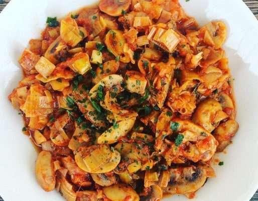 Greek-Style Mushrooms