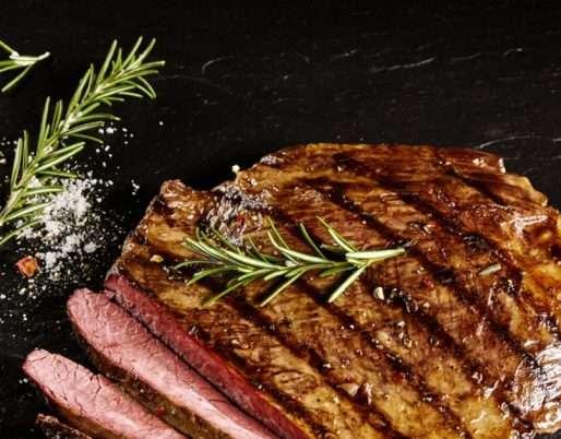 Lemon Marinated Sirloin Steak