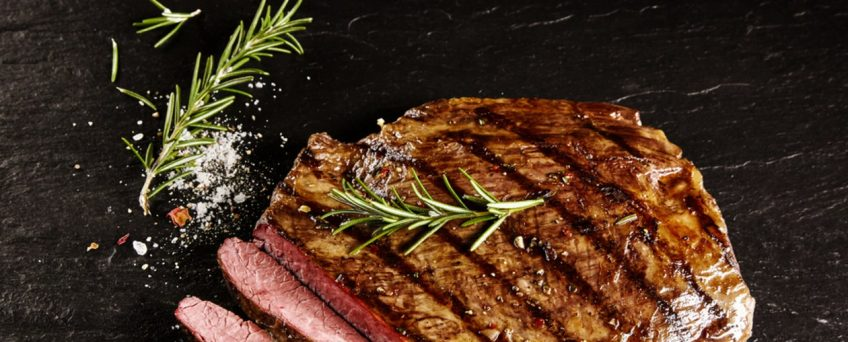 Lemon Marinated Sirloin Steak