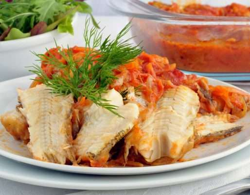 Mexican Style Baked Fish