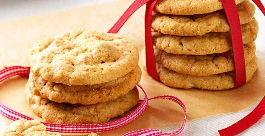 Peanut Butter Maple Cookies