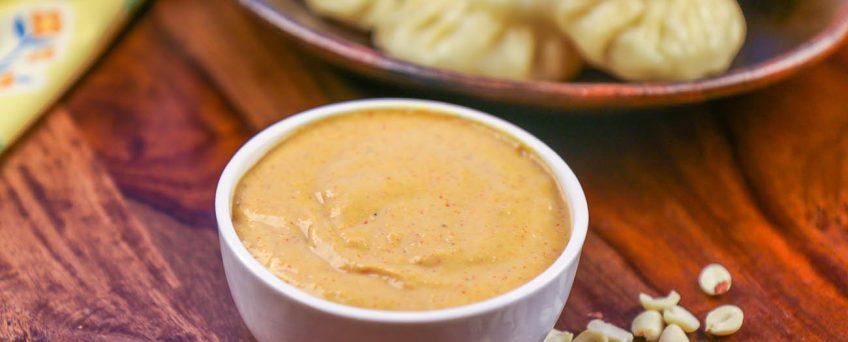 Spicy Peanut Yogurt Dip