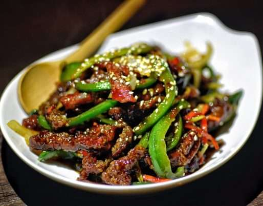 Szechwan Spiced Beef Shreds