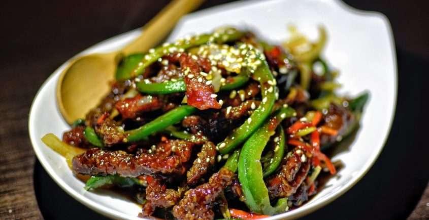 Szechwan Spiced Beef Shreds