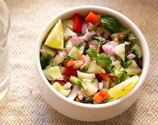 Cucumber and Onion Chaat Kheera Pyaz ki Chaat